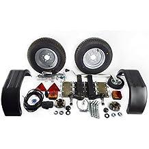 AB Tools 750 Kg Remolque Unidades de suspensión Kit de Guardabarros Luces del Enganche de Remolque
