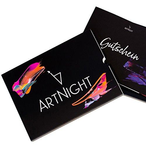 Preisvergleich Produktbild Erlebnisgutschein von ArtNight / Tolle Gutschein Geschenkbox / Erlebnisbox Bekannt aus Höhle Der Löwen / Für EIN Ultimatives Art Workshop Erlebnis
