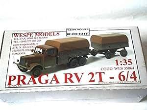 WES 35064 1:35 PRAGA -Resin Kit Wespe Models