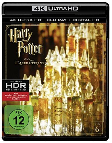 Harry Potter und der Halbblutprinz - Ultra HD Blu-ray [4k + Blu-ray Disc]