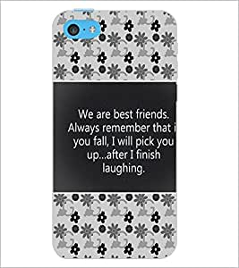 PrintDhaba Quote D-4685 Back Case Cover for APPLE IPHONE 5C (Multi-Coloured)
