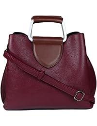 ISweven Women's Stylish Handbag | PU Leather Shoulder Bags For Women | Women's Satchel | Party Wear Handheld Sling... - B07CZKWCL8