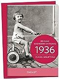 1936 - Ein ganz besonderer Jahrgang Zum 80. Geburtstag: Jahrgangs-Heftchen mit Umschlag