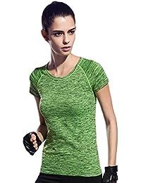 SEEU Running Top Women Yoga Tops For Women Short Sleeve T-Shirts 4 Colors XS-4XL