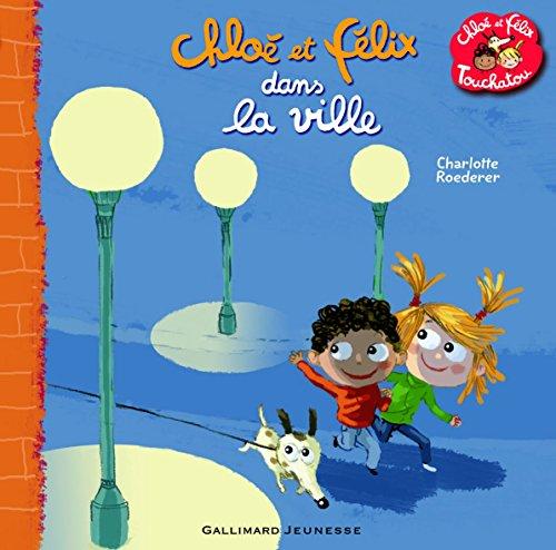 Chloé et Félix dans la ville