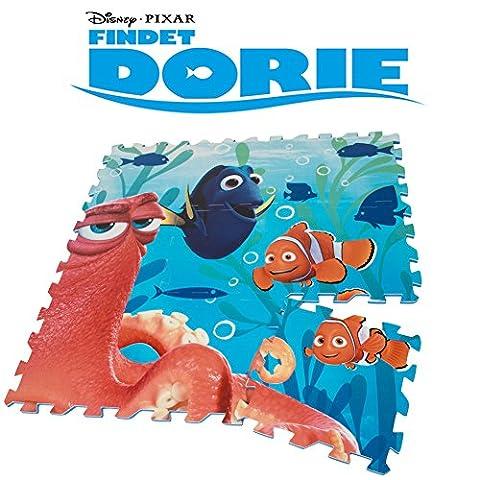 Brigamo FD8955 - Findet Dorie Puzzle Matte, Schaumstoff Puzzle, Spielteppich, Spielmatte Puzzle