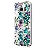 Teryei Samsung Galaxy S6 Hülle, Hybrid Flexible TPU Stoßfest Apple Case Dünn Kristall Klar Silikon Protective Back Cover für Samsung Galaxy S6 (5.1 Zoll) (Galaxy S6, 10)