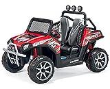 Polaris Ranger RZR 24 V0lt Elektro-Jeep Zweisitzer Rot Elektro Auto Elektroauto Kinderauto