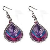 Baby : Minshao 1Pair Fashion Women Alloy Eardrop Jewelry New Stud Dangle Earings (purple)