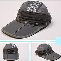 Sombrero De Protección Solar Sombrero De Verano Femenino UV Visera Parasol Gorro De Deporte Exterior Plegable Rostro Femenino Sol Parasol