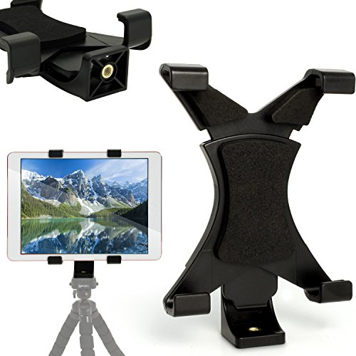 37392ba04d7 iGadgitz Tablet Holder Mount Bracket for Tripods with ¼ inch screw thread  for Amazon Fire HD
