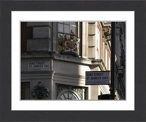 framed-print-of-crest-fortnum-and-mason-piccadilly-london