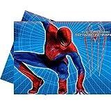 Tovaglia Spiderman plastificata Taglia Unica
