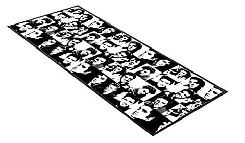 Black & White Elvis Pattern design bar runner great for home bar shop cocktail party advertising tool bar