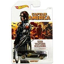 Hot Wheels vehículo Capitán América rivited