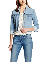 French Connection Dionne Denim Micro Western Jkt - Chaqueta Mujer