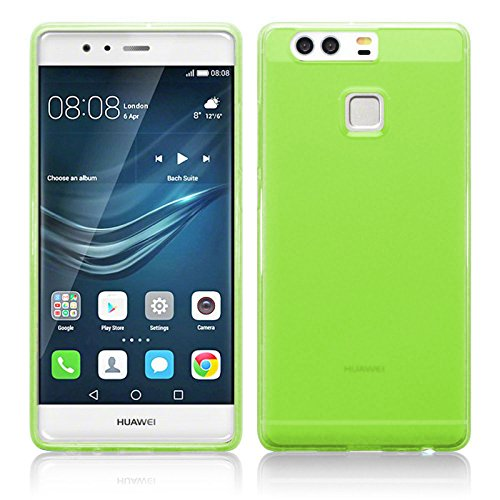 Tboc custodia gel tpu verde per huawei p9 plus - p9 plus dual sim in silicone ultra sottile e flessibile
