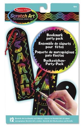 Melissa & Doug - 15906 - Scratch Art-Party Pack: Buchzeichen