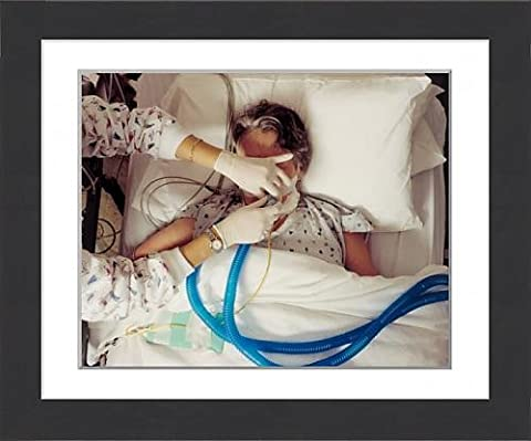 Framed Print of Disconnecting Ventilator Removing Life Support