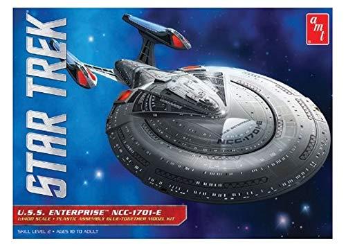 ar Trek USS Enterprise 1701-E Plastikmodellbausatz, Modelleisenbahnzubehör, Hobby, Modellbau, Mehrfarbig ()