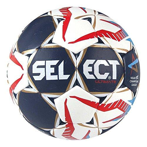 Select Ultimate CL Men Handball, Blau/Weiß/Rot, 3
