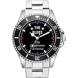 KIESENBERG® Watch - THE BLUES - The Nightmare Returns - Wristwatch 6002