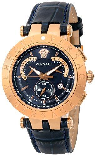[Versace] Versace montre V-racechrono Cadran bleu marine 23C80d282s282pour homme Parallel Import Goods]
