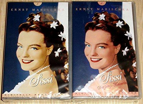 2x Videokassetten: SISSI + SISSI Die junge Kaiserin von Ernst Marischka: Digital Remastered