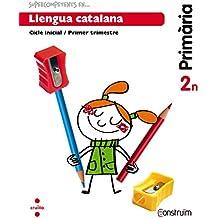Supercompetents en... Llengua catalana. 2 Primària, 1 Trimestre. Construïm. Quadern - 9788466137812