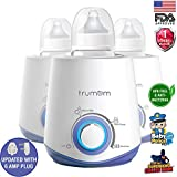 Trumom 3 in 1 Electric Feeding Advance Bottle Warmer Food Heater and Sterilizer for Babies, White