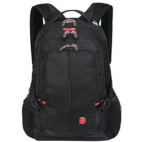 """Soarpop SA9393 Zaino per computer portatile fino a 15,6"""" Nero"""
