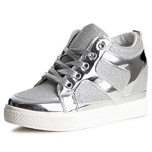 Sneakers rosse per donna Topschuhe24 KGC2kzS8bN