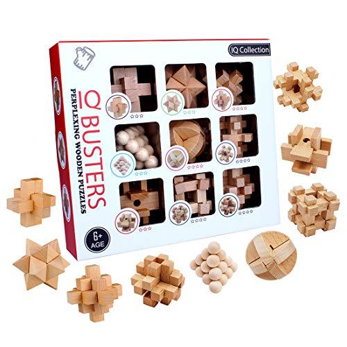 15000P 9Pack Rompecabezas Madcera Puzzles 3D Juegos