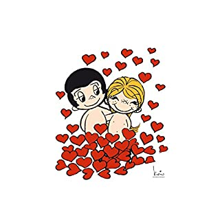 Alenio Wall Sticker–Love Is.–Sheet Size 40x 30cm