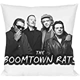 The Boomtown Rats Band Almohada Pillow Cushion Extra Soft Polyester for Bed Home Furniture By Genuine Fan Merchandise
