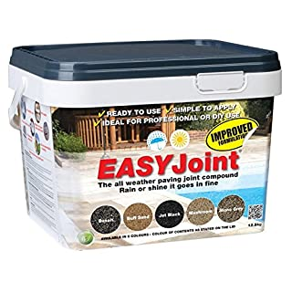 Easy Joint BASALT 12.5Kg *20 tubs* paving jointing compound mortar grout Azpect
