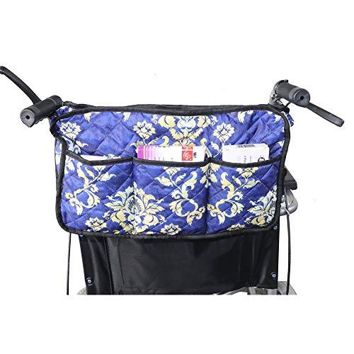 Rollstuhl Seite Tasche (Universal Rollstuhl-Zubehör-Taschen, Walker Taschen, Armlehnen-Tasche, Seiten-Organizer, Aufbewahrungstaschen für Rollatoren, Rollstühle, Roller HGJ246)
