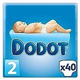Dodot - Pañales para bebé, talla 2 - 40 pañales