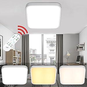 deckenleuchte led dimmbar 50w deine. Black Bedroom Furniture Sets. Home Design Ideas