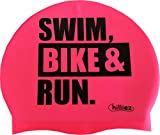 Chilliez Badekappe Silikon SWIM BIKE & RUN pink