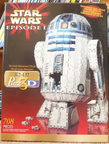 Puzz3D Star Wars R2-D2 3D puzzle by puzz 3d