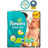 Couches Pampers Baby-Sec Taille 4 + Conditionnement Mensuel - 152 Couches -