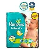 Pampers Baby-Dry Windeln Größe 4+ Monatspackung - 152 Windeln - Packung mit 2
