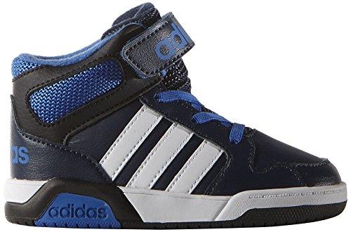 adidas Unisex Baby BB9TIS INF Sneaker, Maruni/Ftwbla/Azul, 22 EU