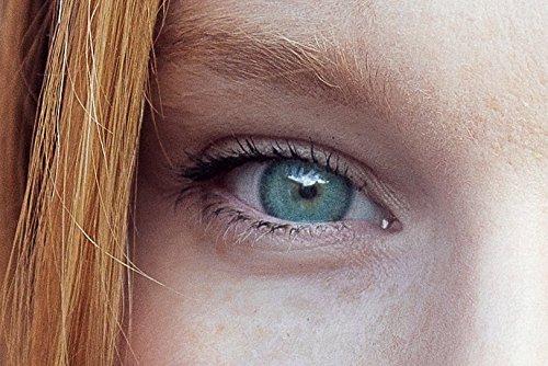 Grüne Kontaktlinsen | Opalin Grün | natürlich farbige Kontaktlinsen | Farbige Kontaktlinsen ohne Stärke | MOOD-LENTILLES (französische Marke)