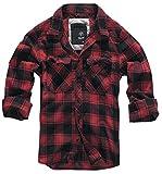 Brandit Check Shirt Red-Black 5XL