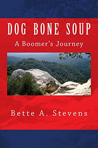 Book cover image for DOG BONE SOUP (Historical Fiction): A Boomer's Journey