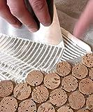 Adhesivo para azulejos/Flexible Adhesivo örtel/polvo adhesivo (20kg, Color blanco): para cerámica de pared y suelo azulejos, porcelanato, corcho, diseño de mosaico de cristal y porcelana MOS aike, térmicamente cargas pesadas), interiores y exteriores
