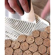 Fliesenkleber / flexibler Klebemörtel / Pulverkleber (20 kg, weiß): für keramische Wand- und Bodenfließen, Feinsteinzeug, Korkmosaik, Glas- und Porzellanmosaike, thermisch hoch belastbar, Innen- und Außenbereich