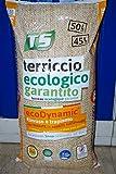 TURCO E SILVESTRO TERRICCIO Ecologico GARANTITO per RINVASI E TRAPIANTI con Zeolite in Sacco da 45 LT